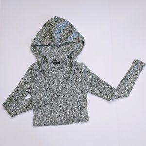 Fashion Nova Crop Top Size S Long sleeve